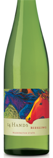 14 Hands Vineyards Riesling 2013 750ml